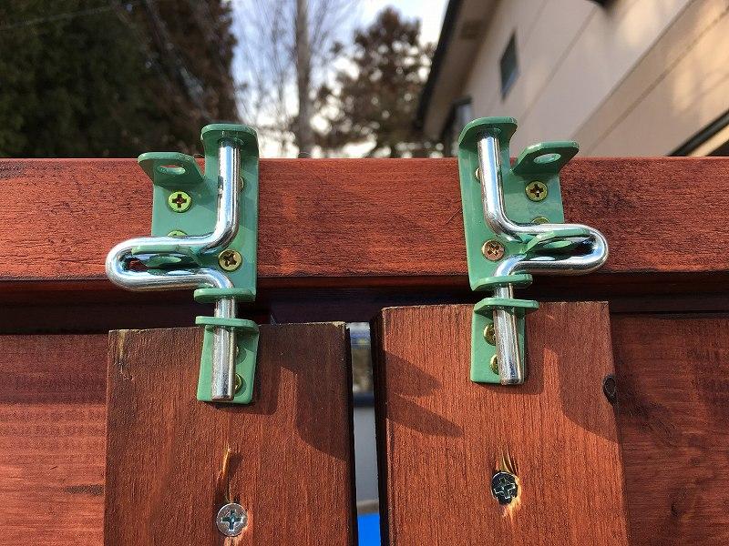 庭の扉の改善~^^④