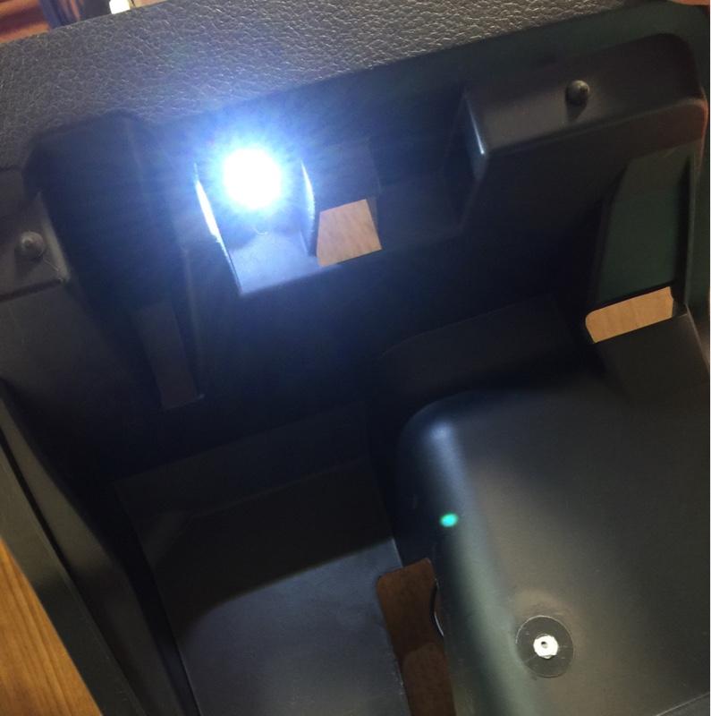 アンダーボックスLED照明取付け(準備編)
