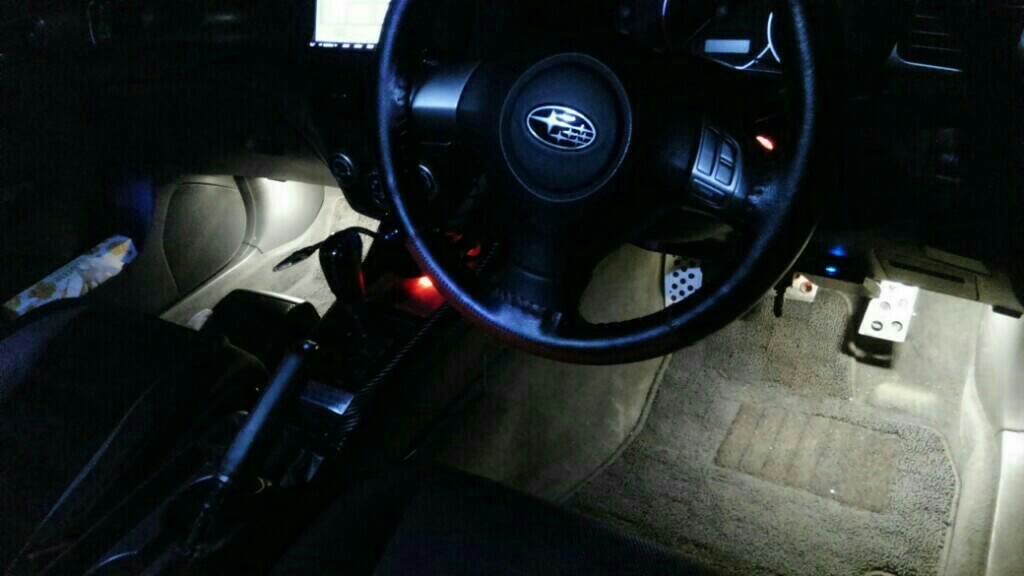 LEDフットランプ増設