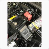 バッテリー液補充 注意喚起の画像