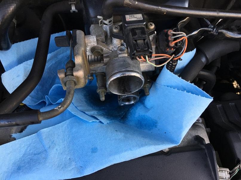 ワゴンR MC22S K6A ISCVの掃除 2