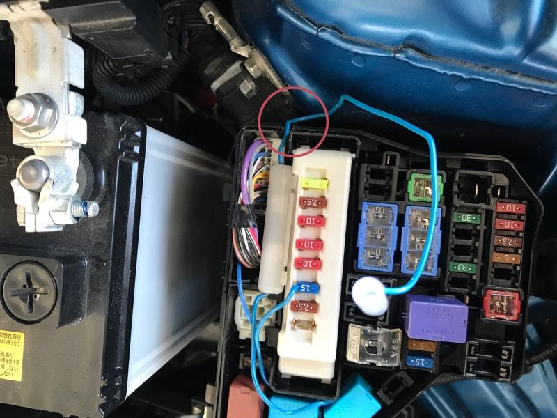 TOM'S LEDランプユニットをデイライト化
