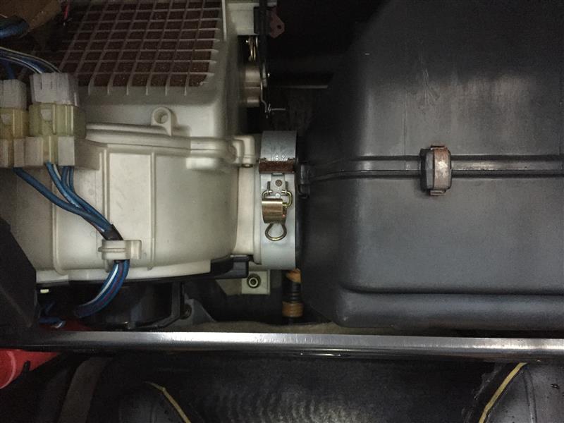 ゴミ混入エアコン風の改善とフィルター装着