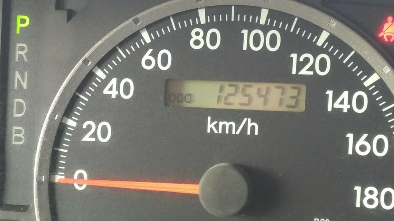 ODO125473kmのオイル交換!