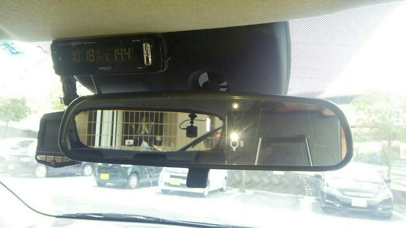 NAPOLEX電波時計・電圧計付け替え