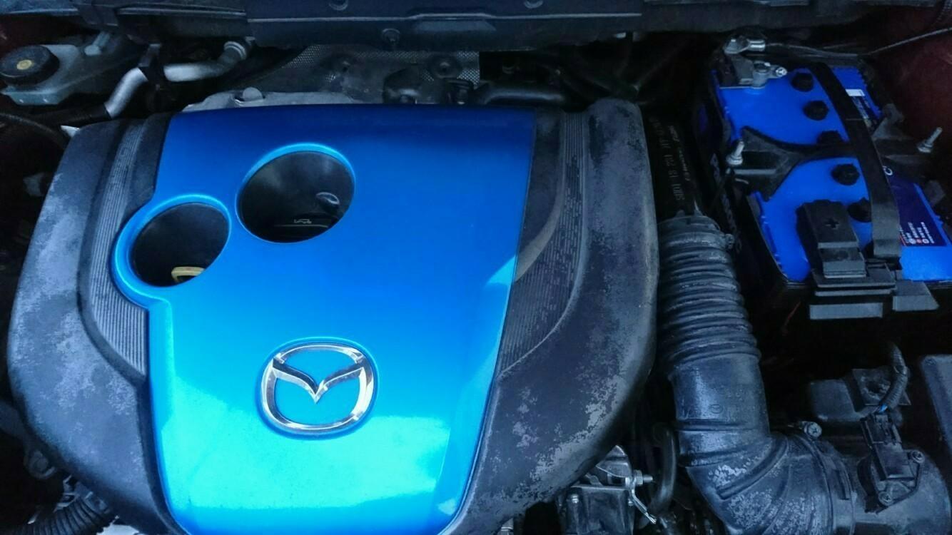 バッテリー・燃料フィルター・オイル交換です