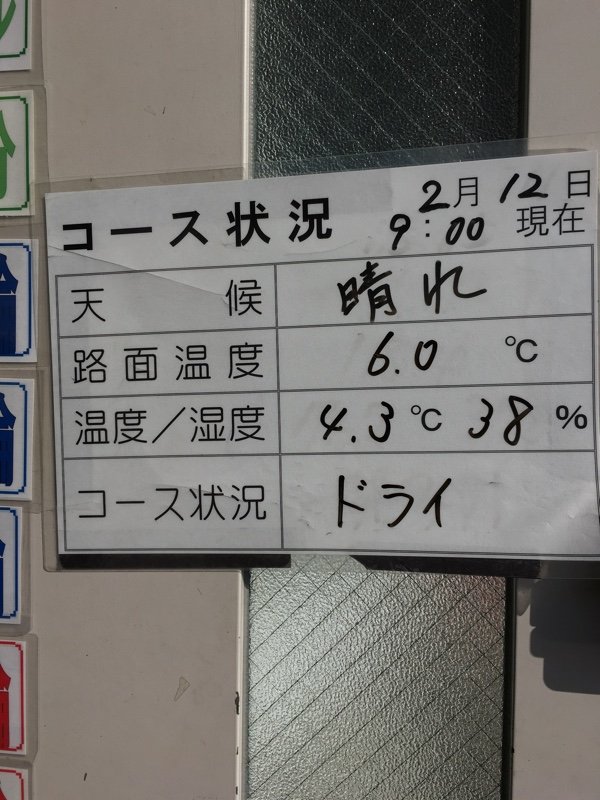スポーツ走行@袖ヶ浦