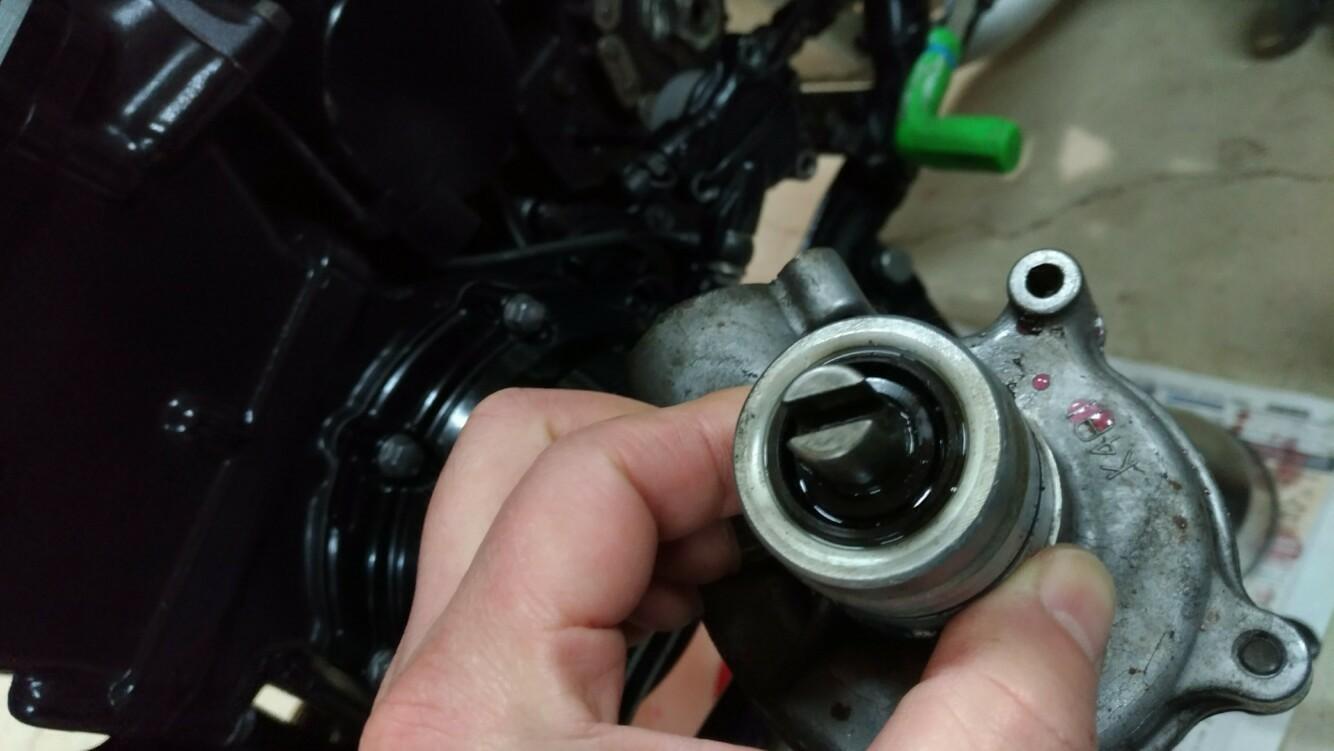 オイル漏れ修理の件。