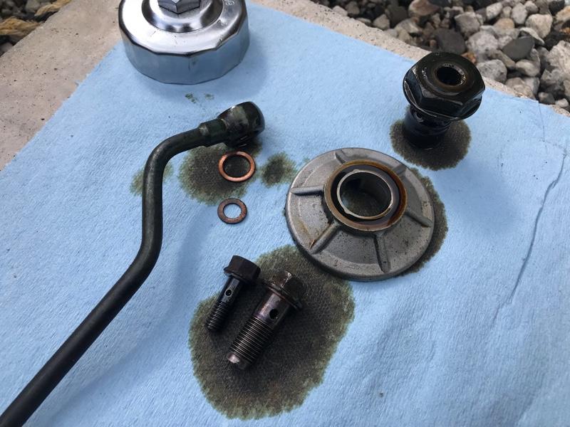 E07Z オイル漏れを直してみよう 2