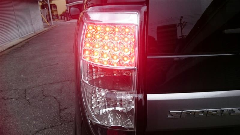 社外LEDテールランプの取り付けと試行錯誤の記録😨 その1