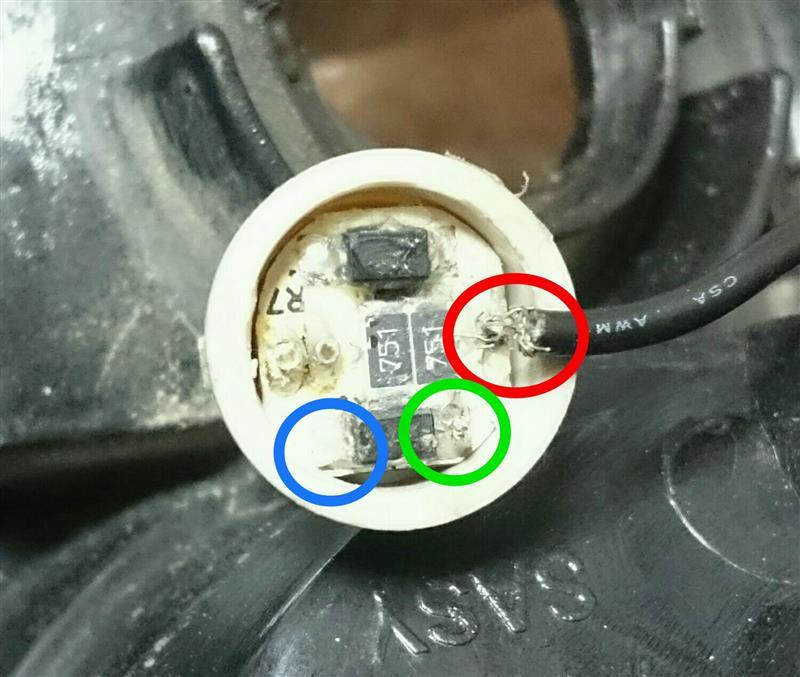 社外LEDテールランプの取り付けと試行錯誤の記録😨 その2