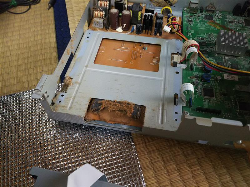 東芝RD-BD600  BD/DVDレコーダー ドライブ交換