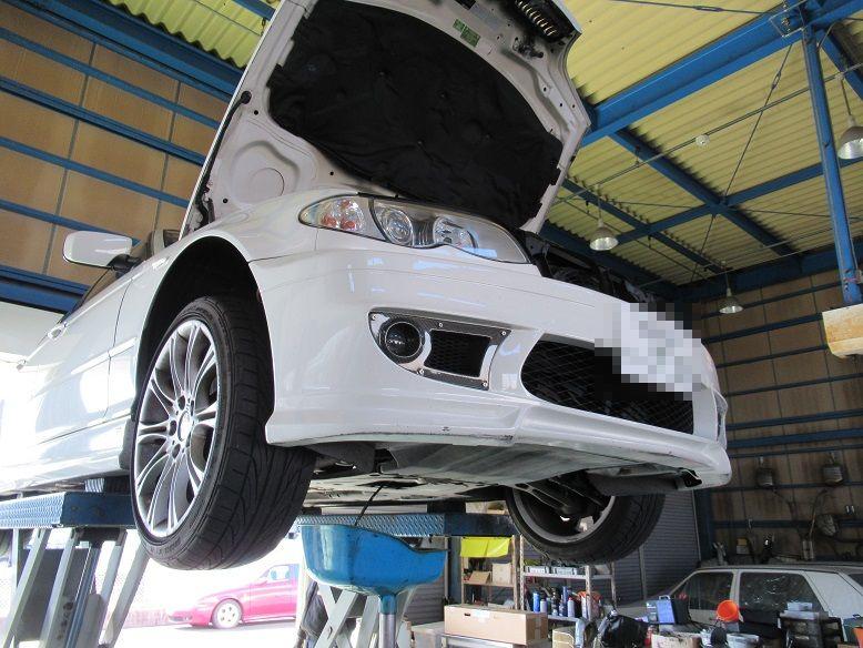 メンテナンスは大事...BMW E46 325 エンジンオイル+エレメント交換