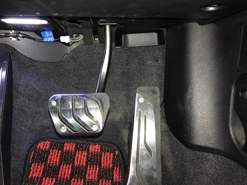 pivot 3-Drive LIGHTの取付け