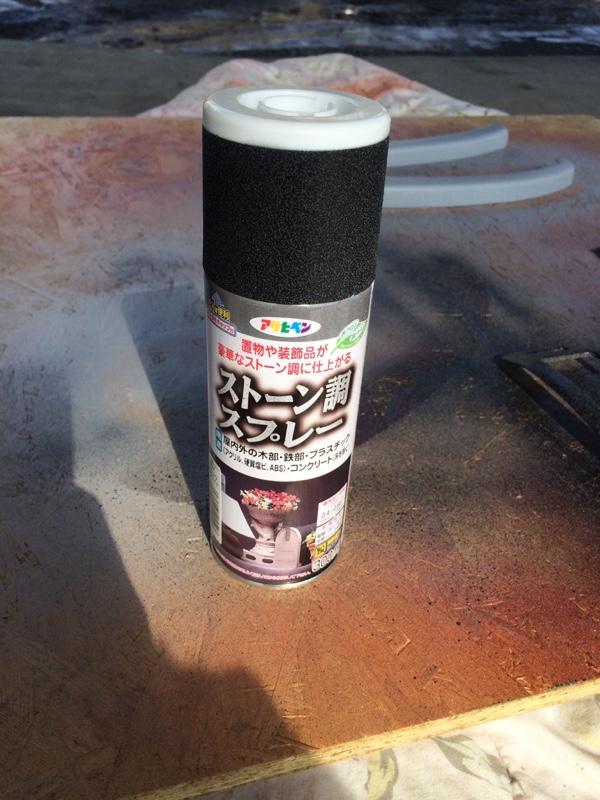 インパネ周り塗装③