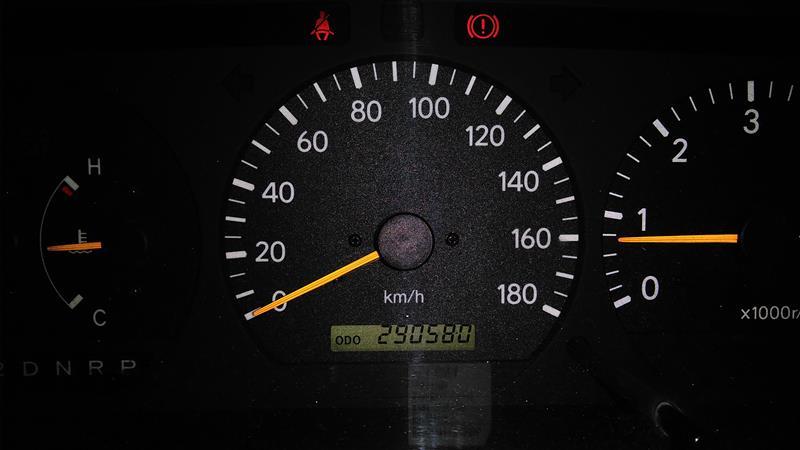 オイル交換:290,580km、息子も相乗りしてオイル交換