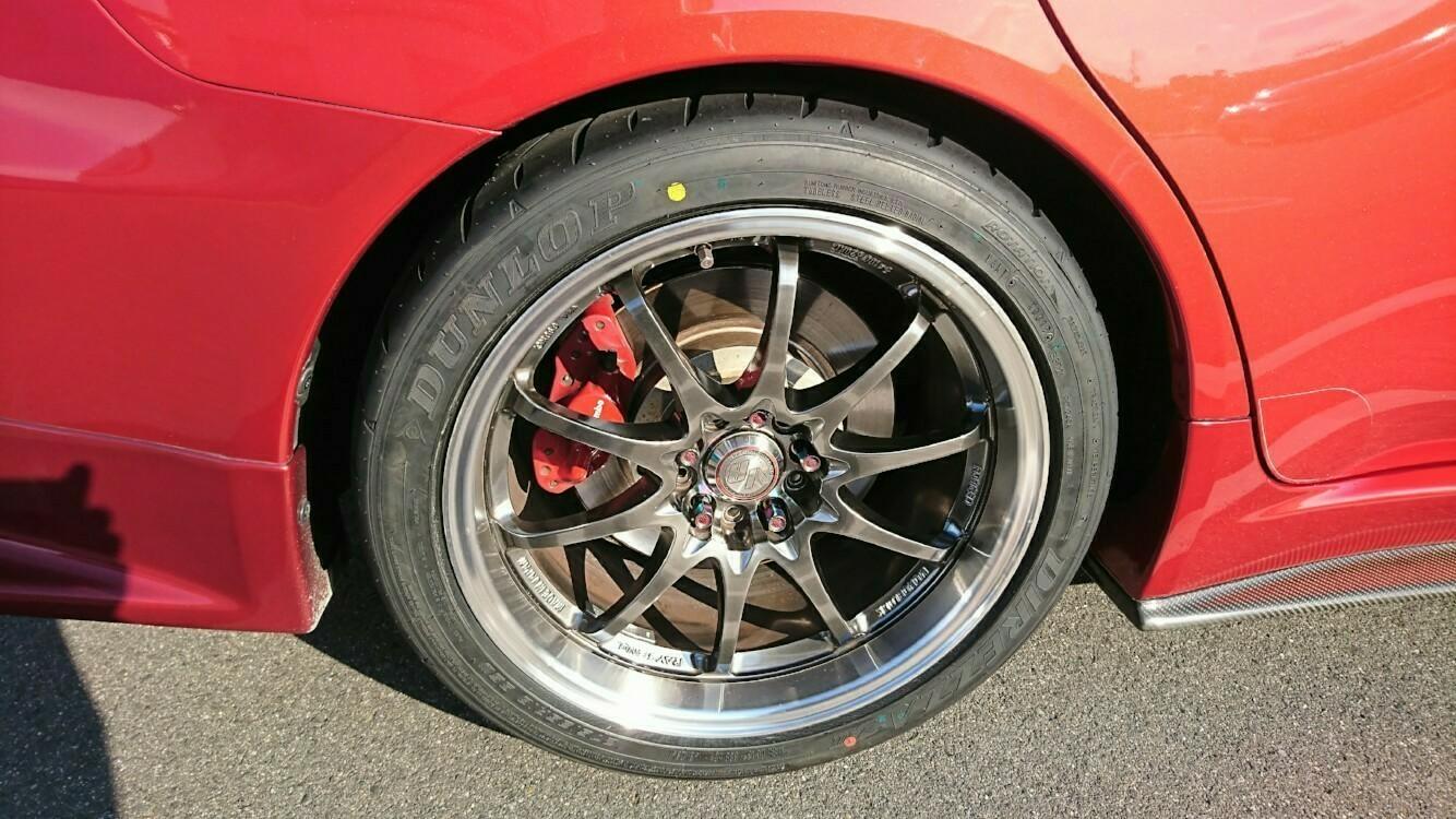 4回目タイヤ交換