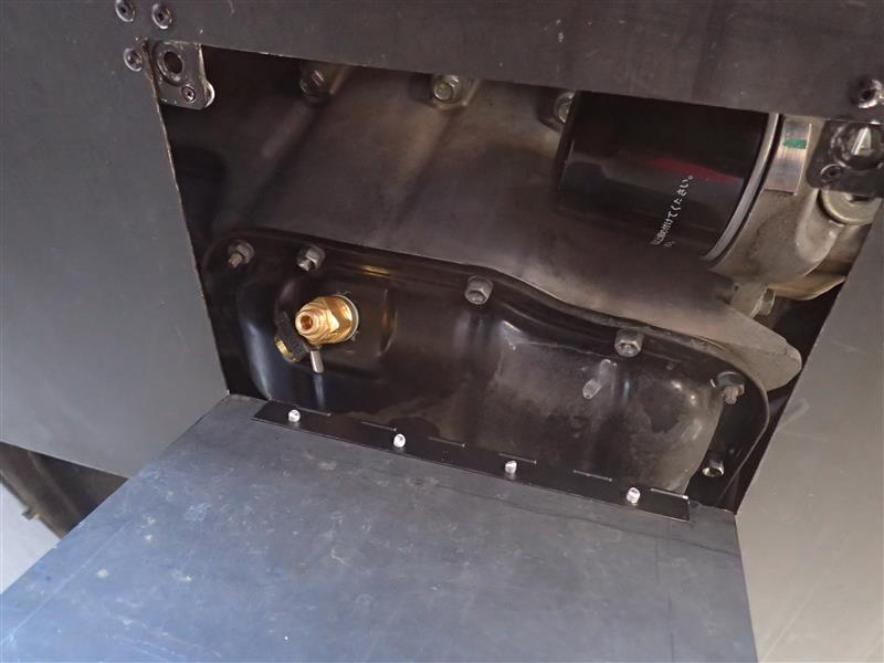 オイル交換用アンダーパネル加工
