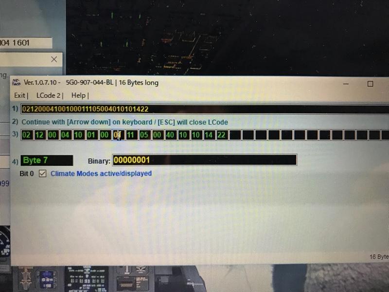 < VCDS>エアコンモードの設定