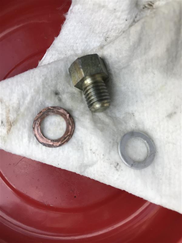 プライマリーケースからのオイル漏れ修理