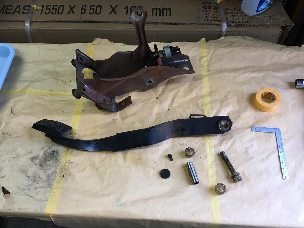 AE86制作プロジェクト25~ブレーキ周り組み付け