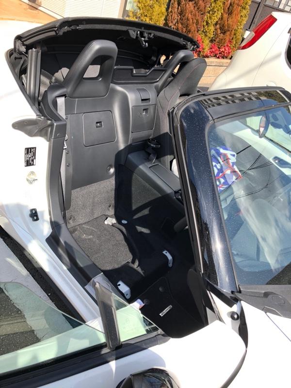 運転席を TS-G に交換