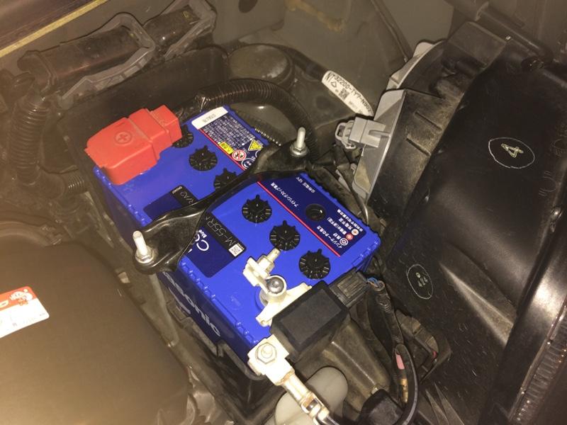 バッテリーとポジション球交換