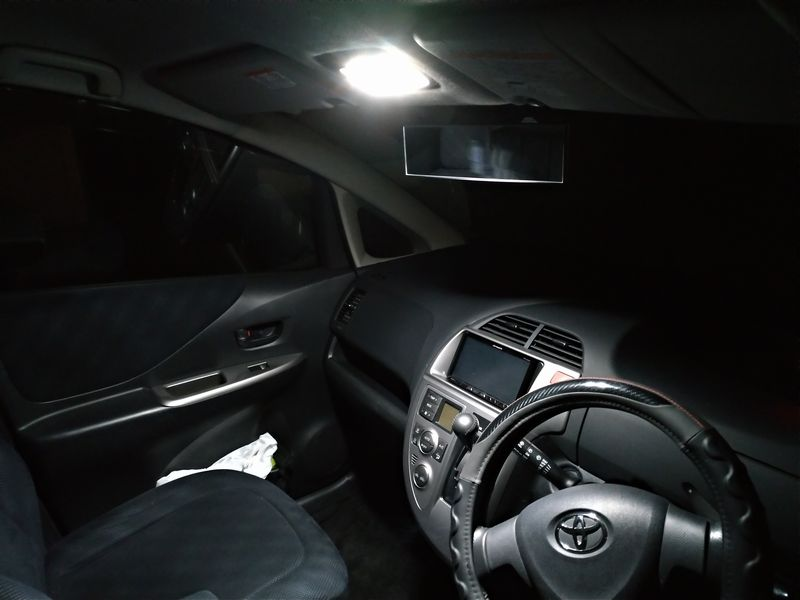 マップランプ LED化