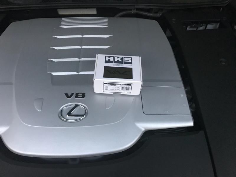 HKS VAC スピードリミッターカット取付