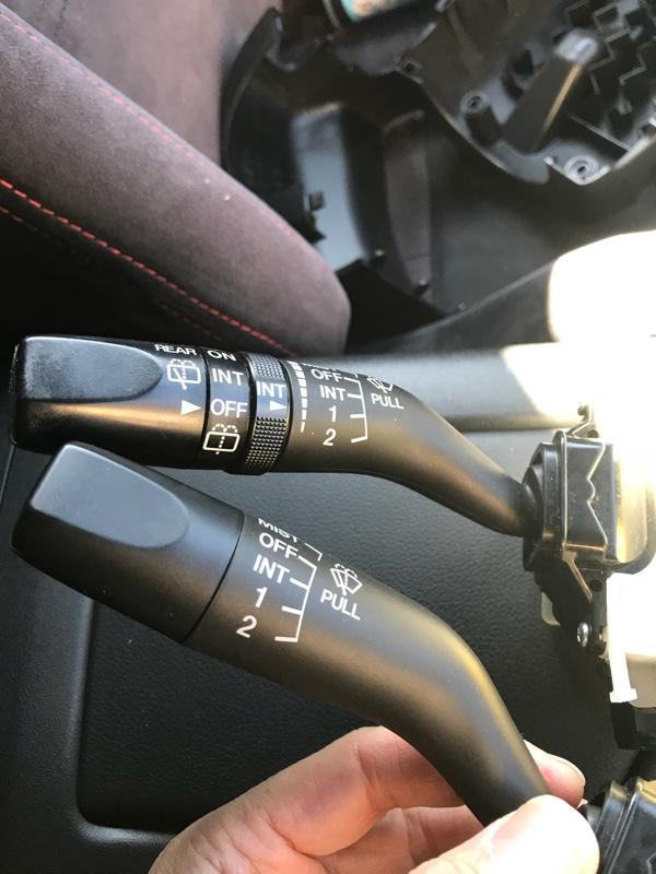 RX-8用ワイパースイッチへの交換