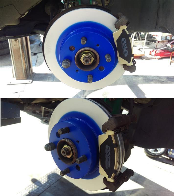 ブレーキローター PDタイプ交換