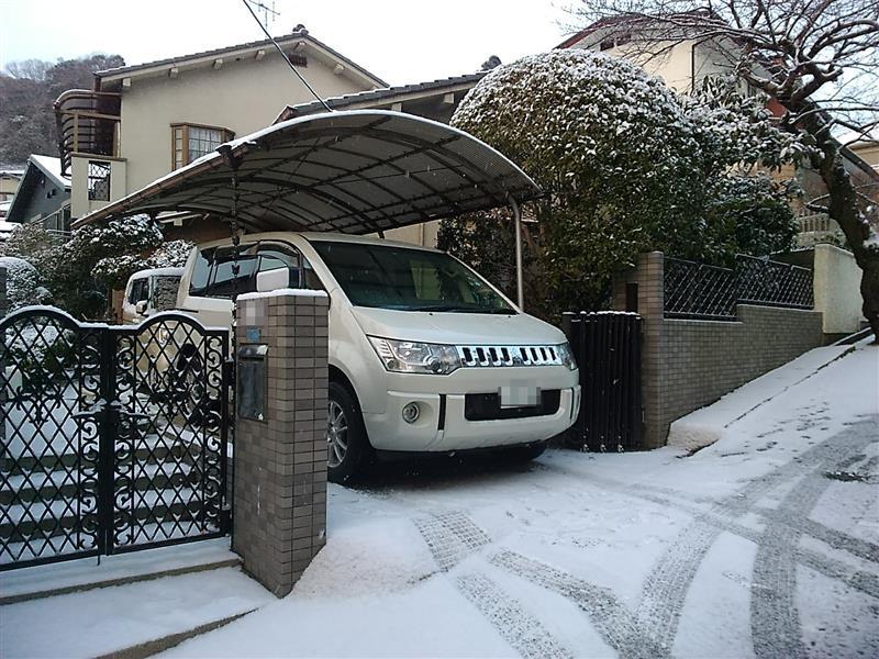 冬タイヤ装着
