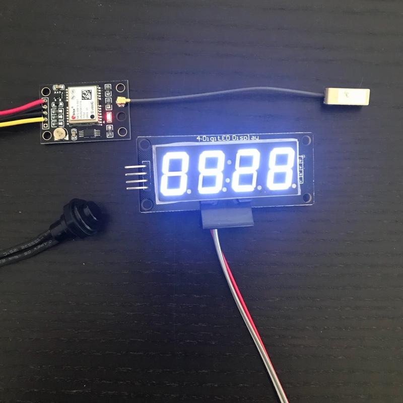 デジタルメーターの追加(Speed&GPS Clock)制作編 Part1