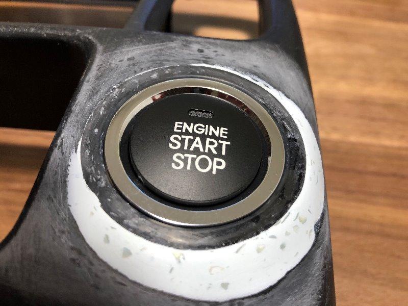 プッシュスタートボタン埋め込み