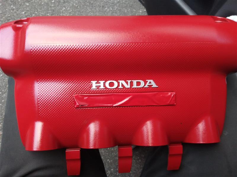VTECエンジントップカバー塗装