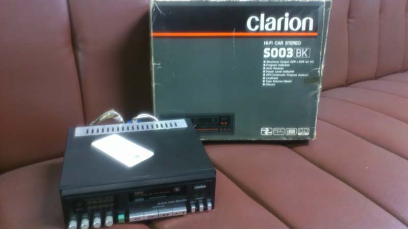 クラリオン未使用デッキのベルト交換