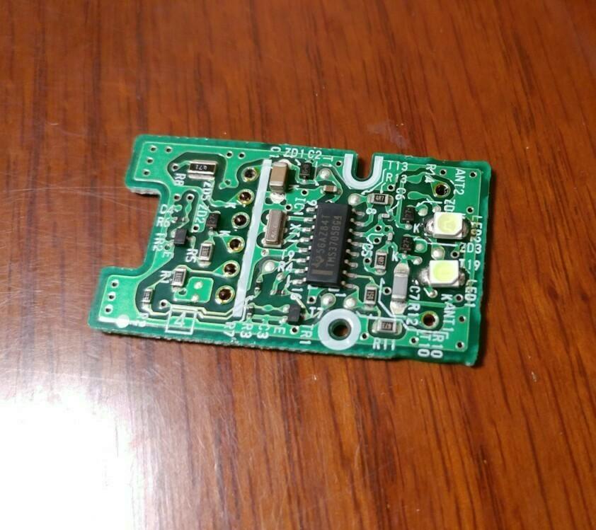 余り物LED使用 プッシシュスタートスイッチ LED打ち換え その2
