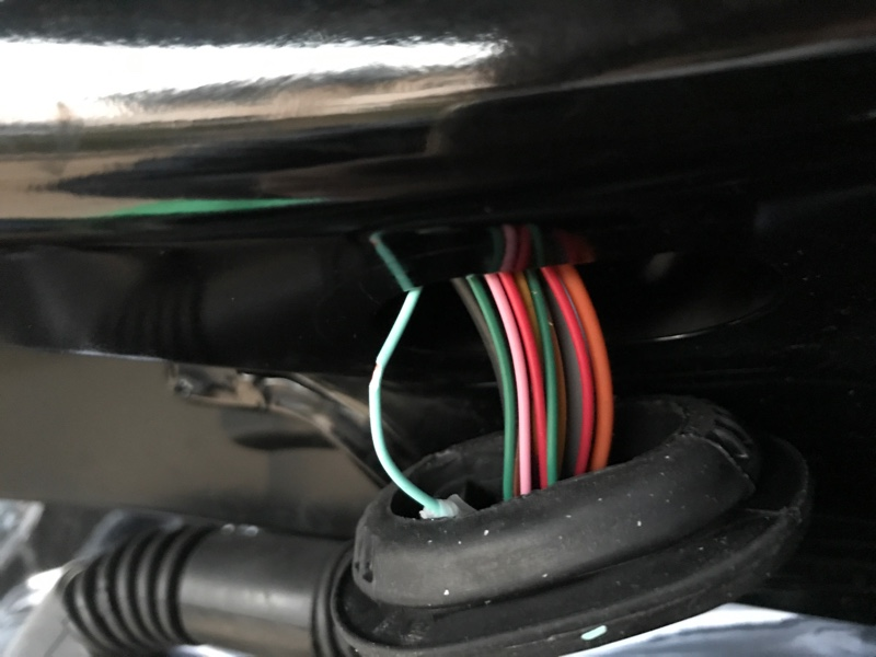 ブレーキランプ自作4灯化