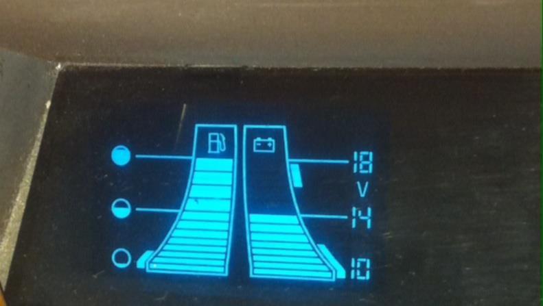 燃料ゲージが異常?