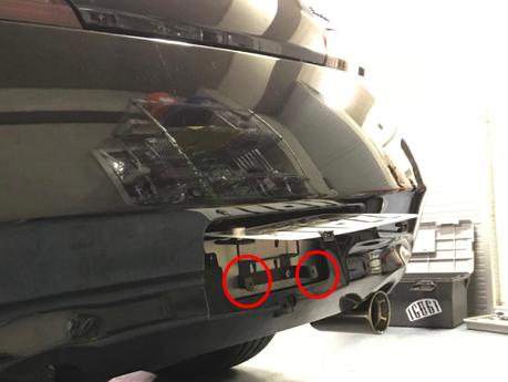 リアディフューザー補修、取付け Auto Kits V2