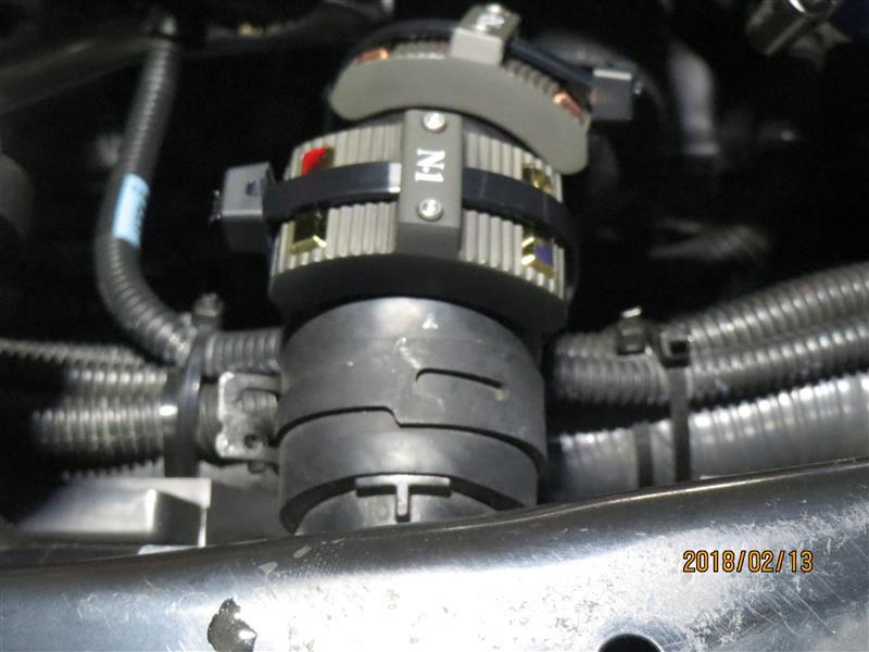 SEV ラジエター N-1/N-2  取付位置別の体感について
