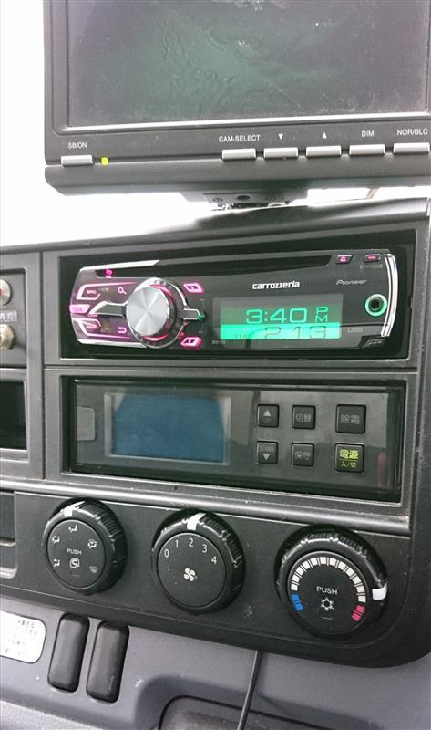 キャンターもCDを聴けるように!