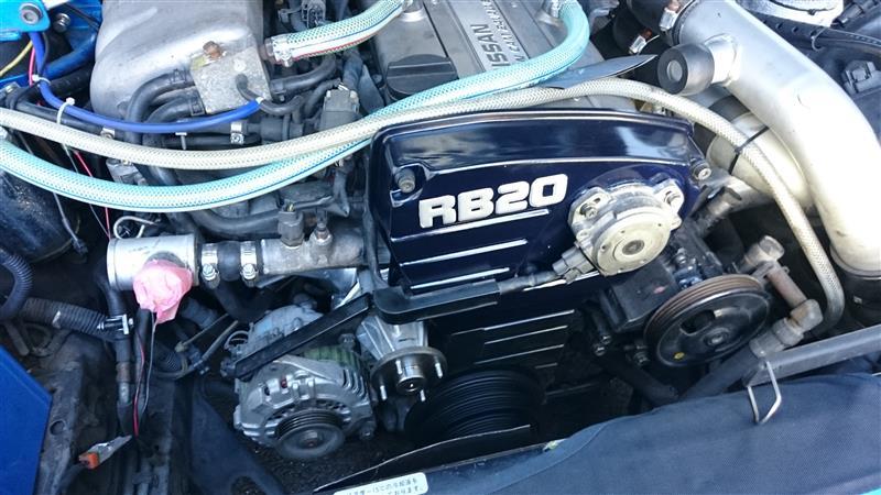 HCR32 RB20 タイミングベルト交換③