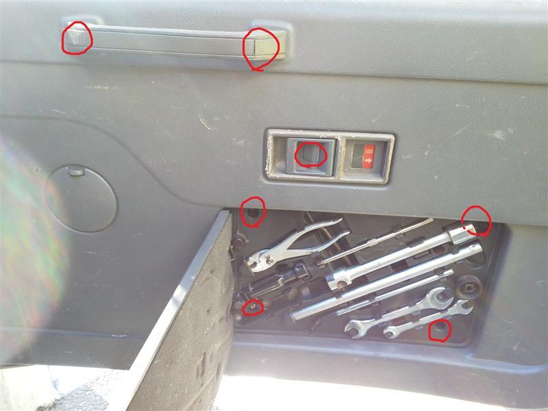 リアゲート外から開かないの修理