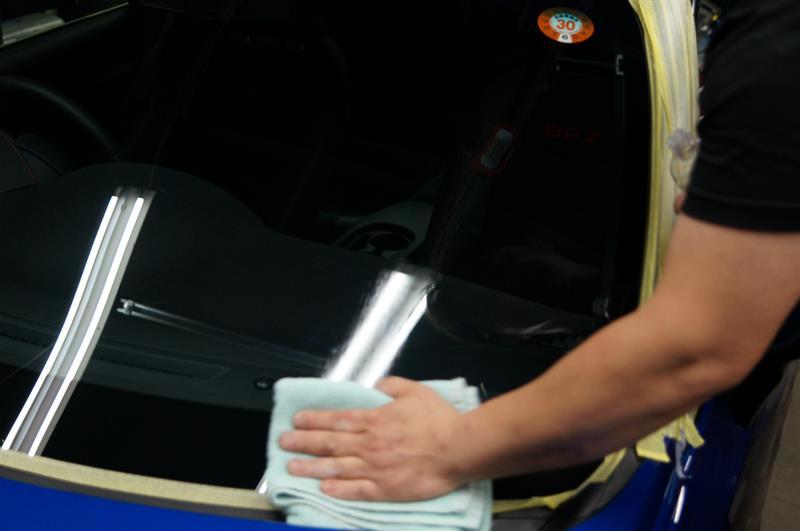 BRZ 強力ガラス撥水 施工完了です!