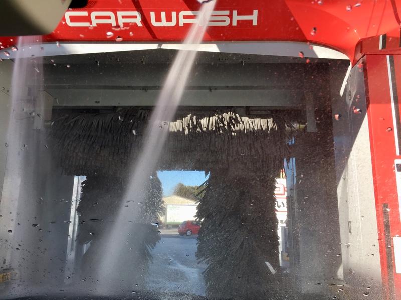 雪からの。。。洗車✨  76,222km
