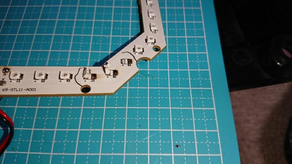 REIZテールランプの修理&流星ウインカー計画③