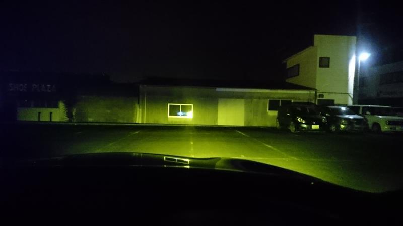 LEDフォグに交換 ピカキュウ LEDフォグ スカッシュイエロー 3300K