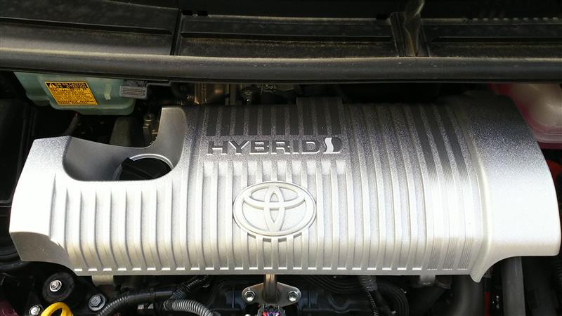 エンジンカバー塗装取付け