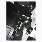 【RC-F】字光式ナンバー取付の画像